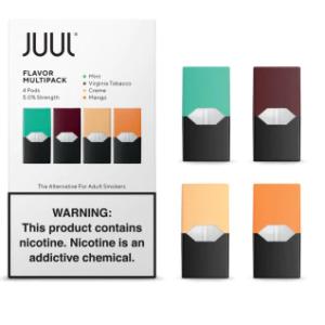 Flavor MultiPack Juul pods